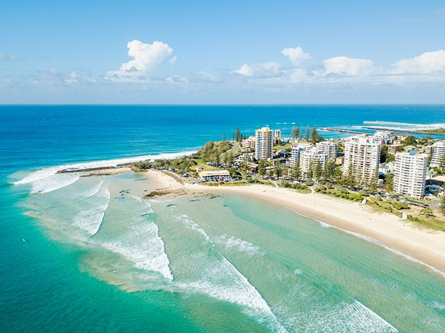 Book your flight to Coolangatta - Gold Coast, QLD with eDreams