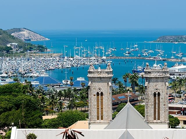 Book your flight to Noumea with eDreams
