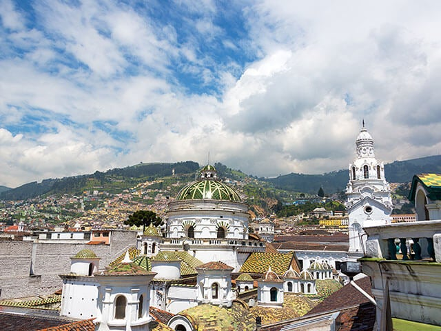 Book your flight to Quito with eDreams